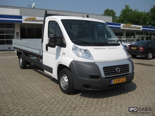2007 fiat ducato 2 3 jtd 120 pk long pick up airco car photo and specs. Black Bedroom Furniture Sets. Home Design Ideas