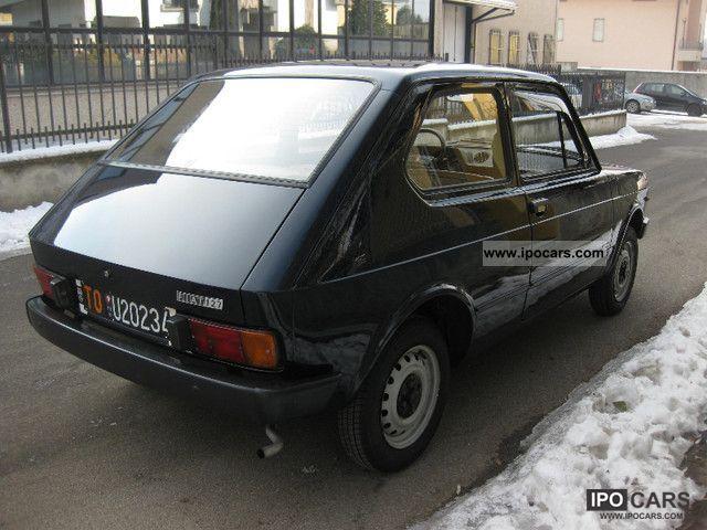 1979 Fiat 127 900 L 2 Porte Come Nuova Asi Car Photo