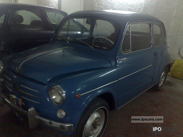 Fiat  Seicento 1963 Vintage, Classic and Old Cars photo