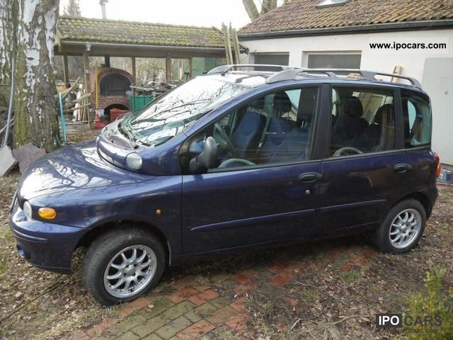 Fiat  Multipla BIPOWER 2001 Compressed Natural Gas Cars (CNG, methane, CH4) photo