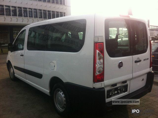 2011 Fiat  Scudo L2H1 12 glazed DPF 8Sitzer climate Van / Minibus Used vehicle photo