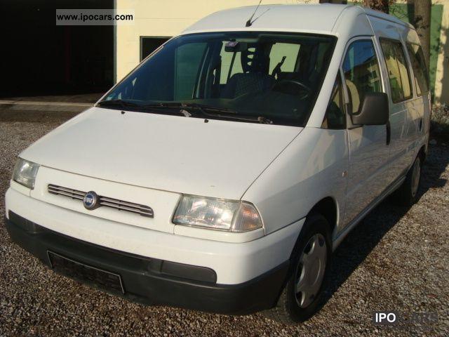 2001 Fiat  Scudo 2.0 / APC / 8.Sitze / checkbook / TUV 11.2012 Van / Minibus Used vehicle photo
