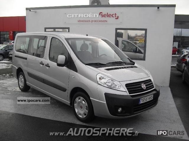 2011 Fiat  Scudo Panorama II 2.0 JTD120 LH1 Ev. 9PL Van / Minibus Used vehicle photo