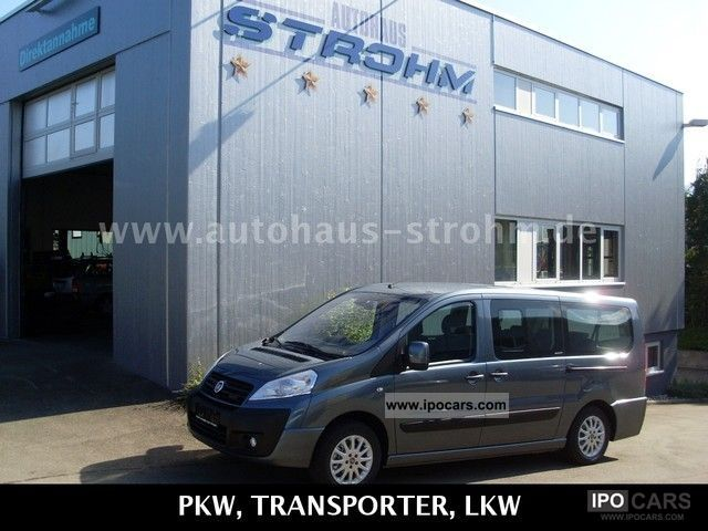 2011 Fiat  Combi Scudo Panorama Executive, L2 8-seater, Estate Car Demonstration Vehicle photo