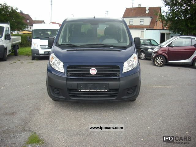 2009 Fiat  * 120 ** multijet Scudo 9 seats Van / Minibus Used vehicle photo