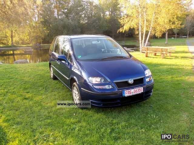2004 Fiat  Ulysse 2.0 16V 7 SEATER 1.Hand Estate Car Used vehicle photo