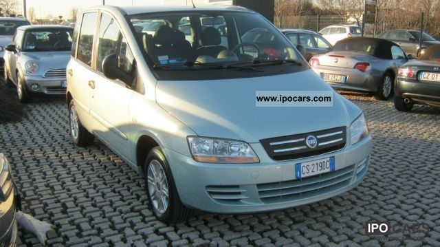 Fiat  1.6 16V Multipla Natural Power Dynamic 2005 Compressed Natural Gas Cars (CNG, methane, CH4) photo