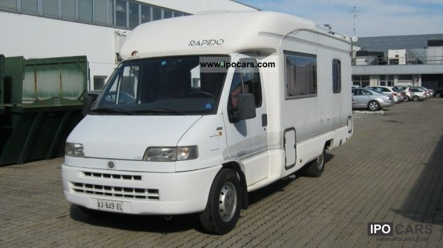 1995 fiat ducato camper rapido 39 car photo and specs. Black Bedroom Furniture Sets. Home Design Ideas