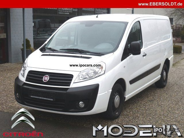 2009 Fiat  Scudo L2H1 120 MJ forwarding winter tires Van / Minibus Used vehicle photo