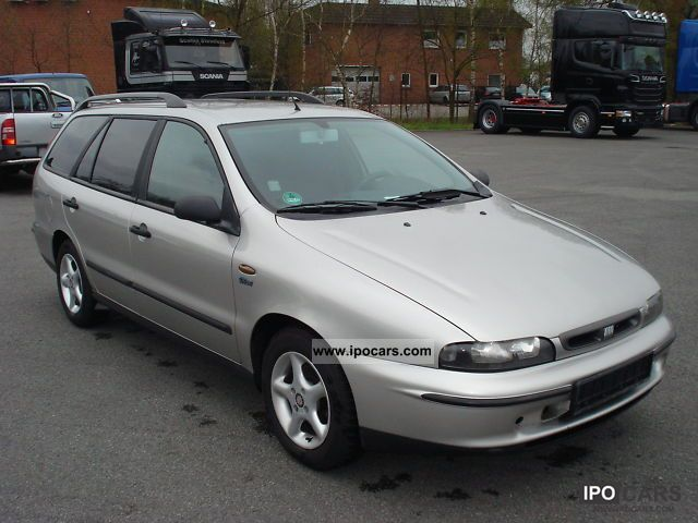 2000 Fiat  Marea Weekend 100 16V, climate control, I Hand, D3 Estate Car Used vehicle photo