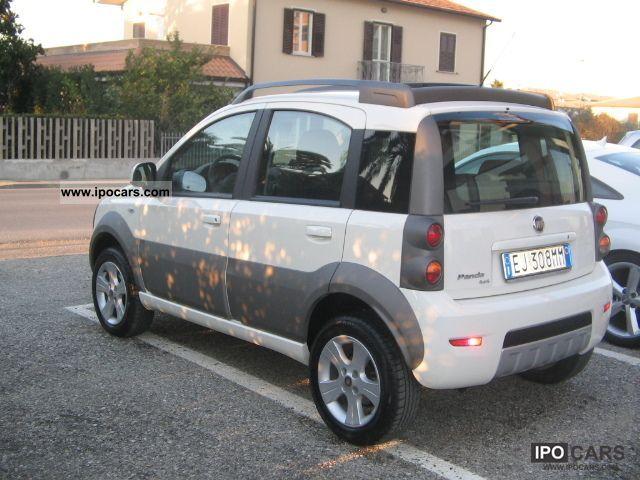2011 Fiat Panda 1 3 4x4 Multij 16v Cross Esp Car Photo