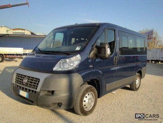 2008 Fiat  Ducato 100 M-jet combi 9 posti Van / Minibus Used vehicle photo