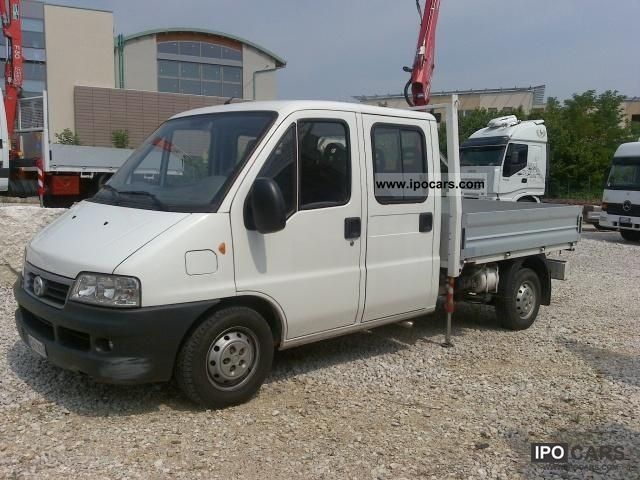 2003 Fiat  Ducato con gru fassi 13 900 Other Used vehicle photo