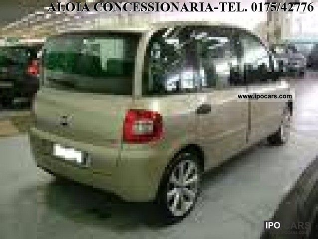 Fiat  1.6 16V Multipla Natural Power Emotion 2010 Compressed Natural Gas Cars (CNG, methane, CH4) photo