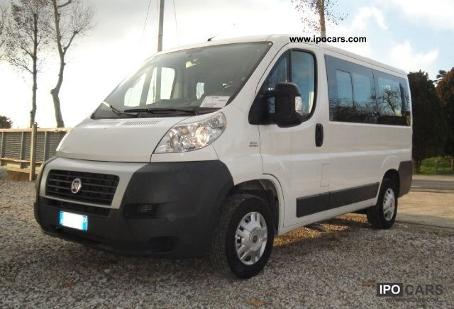 2009 Fiat  Ducato Panorama 2.3 120cv 9 Posti Limousine Used vehicle photo