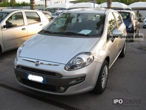 2012 Fiat  Punto 1.3 MJT 75 cv S & S Blue and Me Small Car Used vehicle photo