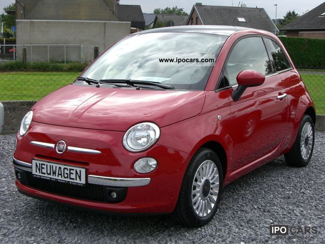 2001 Fiat  NEW CARS 500 1.2 lounge with glass roof, air, aluminum Small Car New vehicle photo