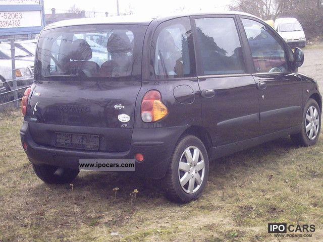 2001 fiat multipla jtd 110 air cooler euro 3 car photo. Black Bedroom Furniture Sets. Home Design Ideas