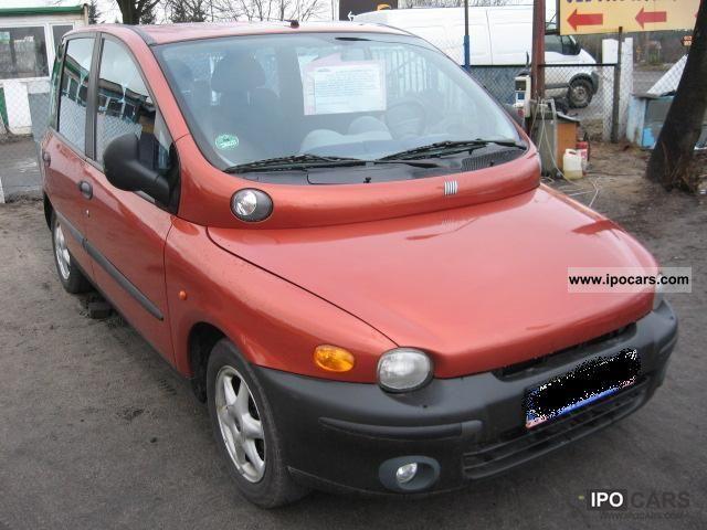 2002 Fiat  Multipla MOŻLIWA ZAMIANA, bardzo Ładna, 1.9 JTD Van / Minibus Used vehicle photo