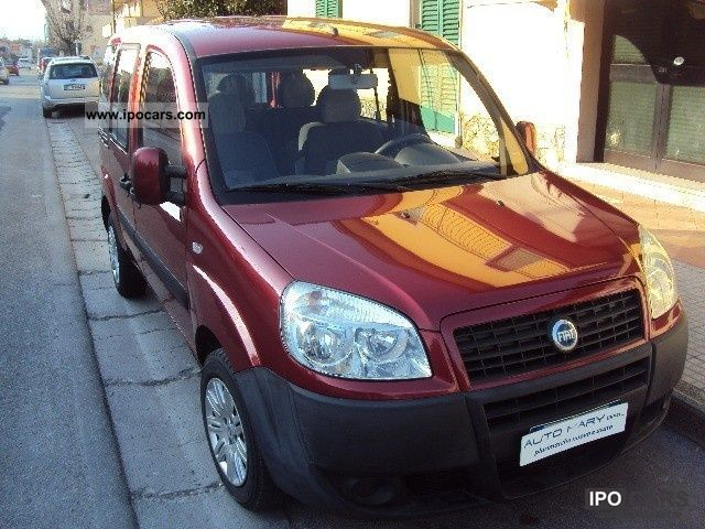 Fiat  Doblo Doblo 1.6 16V Natural Power Active 2007 Compressed Natural Gas Cars (CNG, methane, CH4) photo