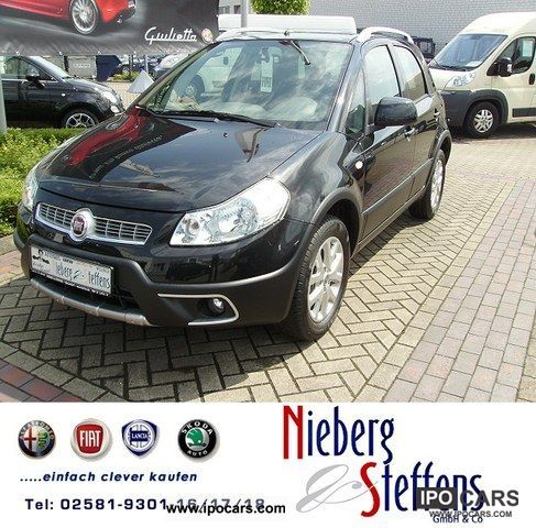 2011 Fiat  Sedici 1.6 16V 4x4 automatic climate control emotion-AKTIO Off-road Vehicle/Pickup Truck Used vehicle photo