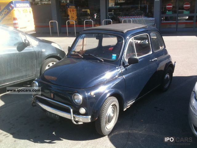 Fiat  Cinquecento 1972 Vintage, Classic and Old Cars photo