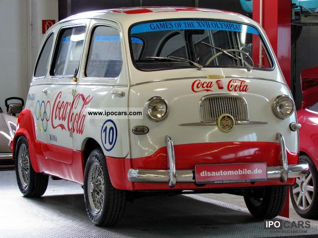 Fiat  Ex-Promotionfzg original Multipla. 60 Rome Olympics 1957 Vintage, Classic and Old Cars photo
