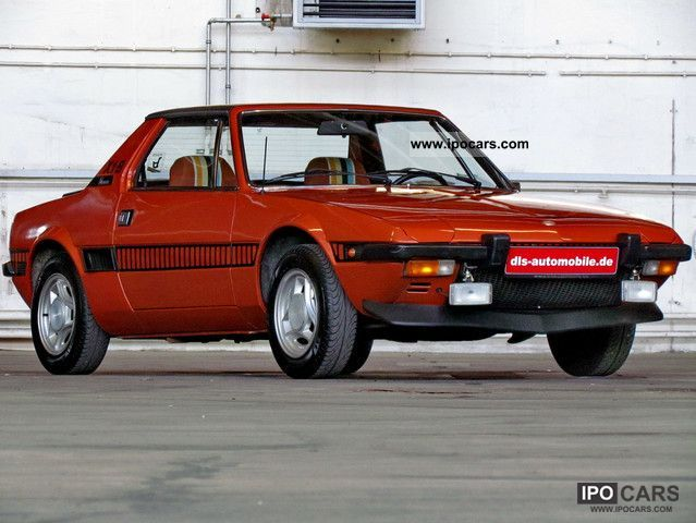 Fiat  X 1/9 1st series, stainless, 84tkm, H-approval 1978 Vintage, Classic and Old Cars photo