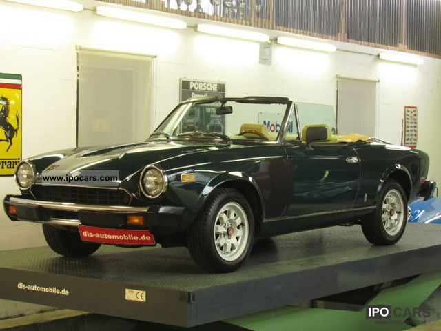 Fiat moreover Yy A further Fiat Spider besides Fiat Other Italian Cars For Sale also Fiat C agnola A. on 1983 fiat pininfarina spider