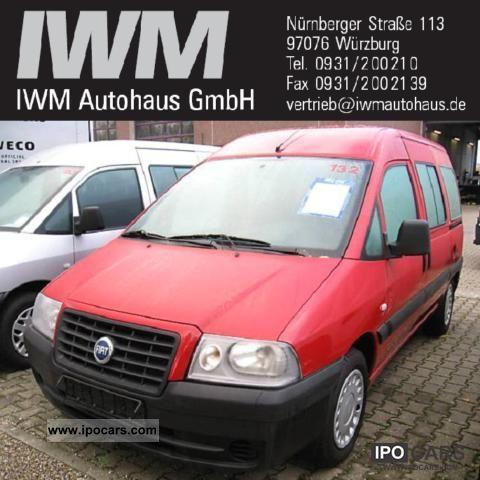 2005 Fiat  Scudo Combi 5-seater Van / Minibus Used vehicle photo