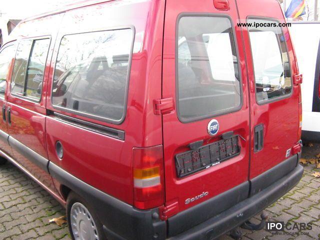 fiat scudo combi  seater car photo  specs