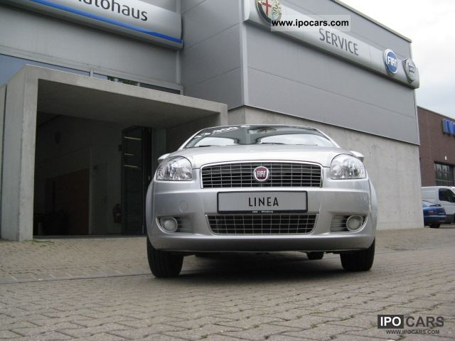 2009 Fiat Linea 1.4 8V Dynamic Limousine Used vehicle photo 8