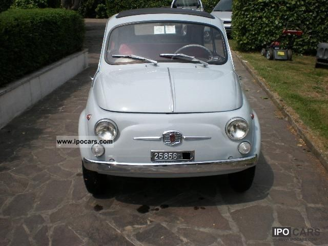 Fiat  500 d 1963 Vintage, Classic and Old Cars photo