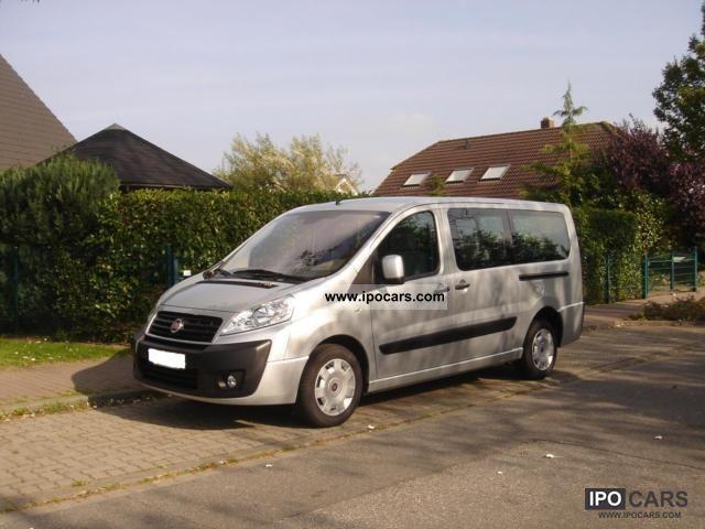 2009 Fiat  Scudo Panorama Family 120 L2H1 9-seater long Van / Minibus Used vehicle photo