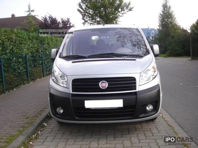 2009 fiat scudo panorama family 120 l2h1 9 seater long. Black Bedroom Furniture Sets. Home Design Ideas