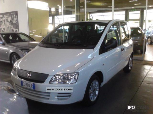 2011 Fiat  Multipla N 1 DYNAMIC MJET 120 CV autocarro Limousine Pre-Registration photo
