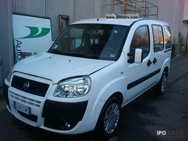 2007 Fiat  1900 Doblo DYNAMIC MJET Limousine Used vehicle photo