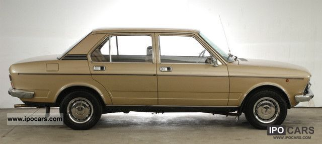 1976 Fiat Gls 132 Aut 1800 Car Photo And Specs
