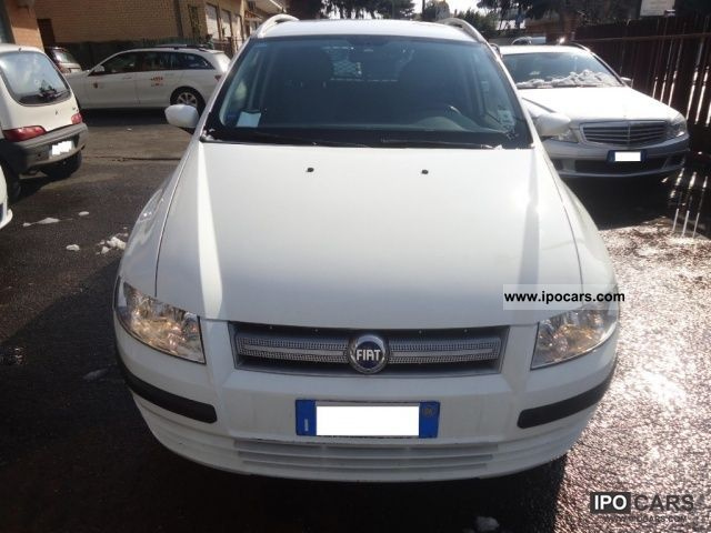 2007 Fiat  Stilo 1.9 MJT (120CV) Active Multi Wagon Van NAV Estate Car Used vehicle photo