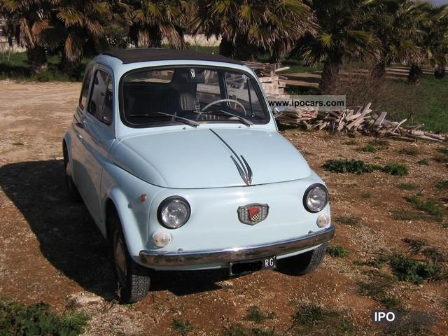 1965 Fiat  500 Giannini TV Special Limousine Used vehicle photo