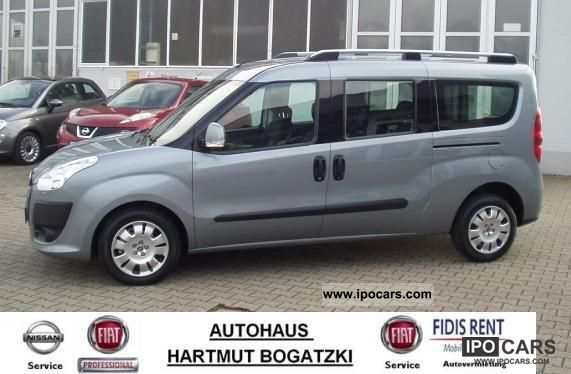 2009 fiat combi doblo 2 0 mj 5 seater start stop maxi. Black Bedroom Furniture Sets. Home Design Ideas
