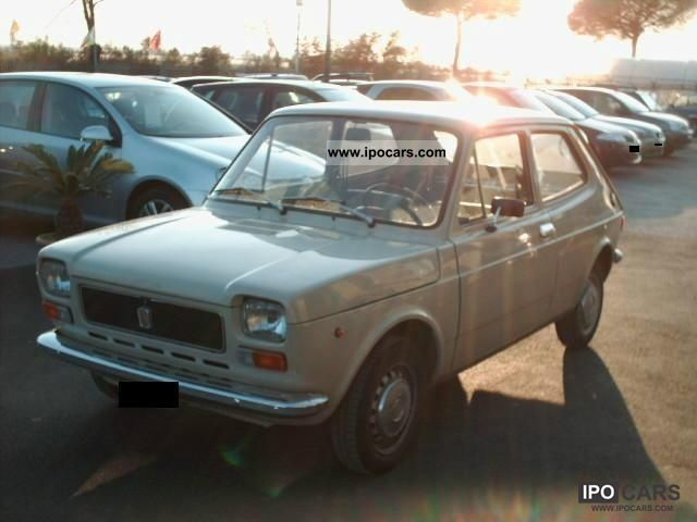 Fiat  127 900 1974 Vintage, Classic and Old Cars photo