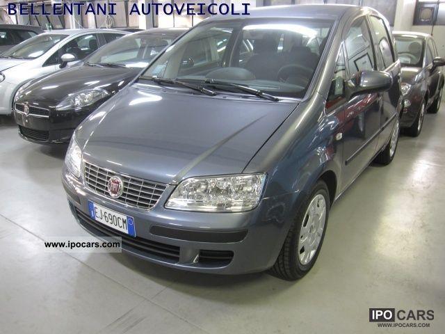 2011 Fiat Idea 13 Mjt 95cv 16v Active Start Stop Car Photo