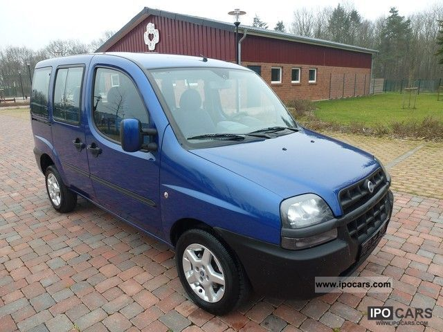 2005 Fiat  Doblo 1.3 Multijet 16V - Air - Aluminum - 5 Seater Van / Minibus Used vehicle photo