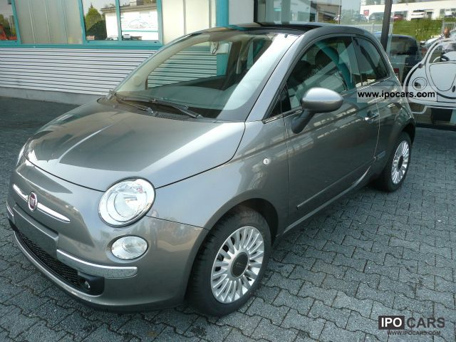 2012 Fiat  1.2 SkyDome Lounge Panaromadach / Air / stock Small Car Used vehicle photo