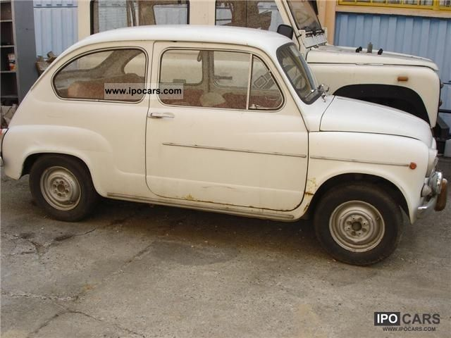 1964 Fiat  Seicento benz. Small Car Classic Vehicle photo
