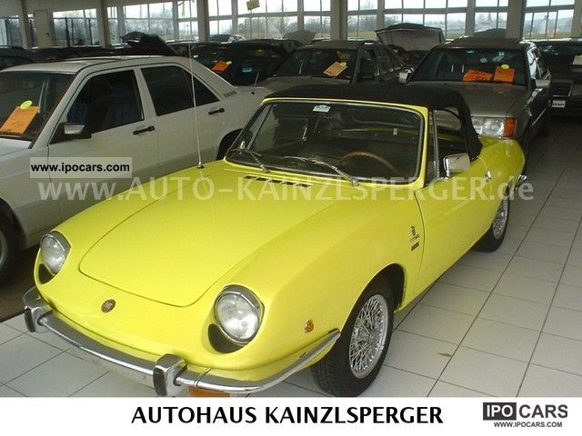 Fiat  Spider 850 Europe 1968 Vintage, Classic and Old Cars photo