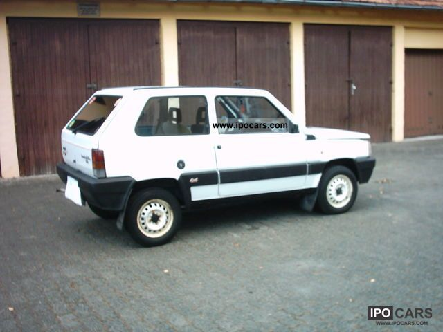 1990 fiat panda 1000 i e 4x4 car photo and specs. Black Bedroom Furniture Sets. Home Design Ideas