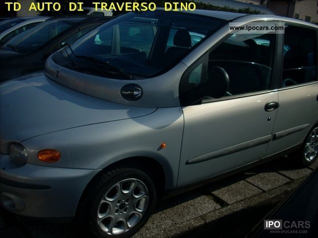 Fiat  Multipla 100 16V ELX Gipower cat 2002 Liquefied Petroleum Gas Cars (LPG, GPL, propane) photo