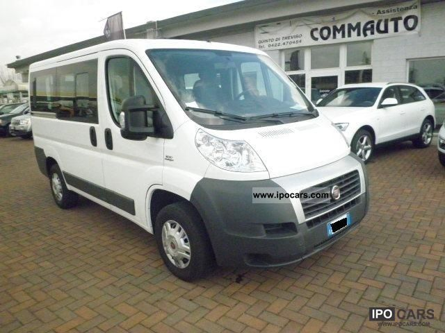 2009 Fiat  Ducato 30 2.3 16v MJT PC-TN Panorama 9 posti Van / Minibus Used vehicle photo